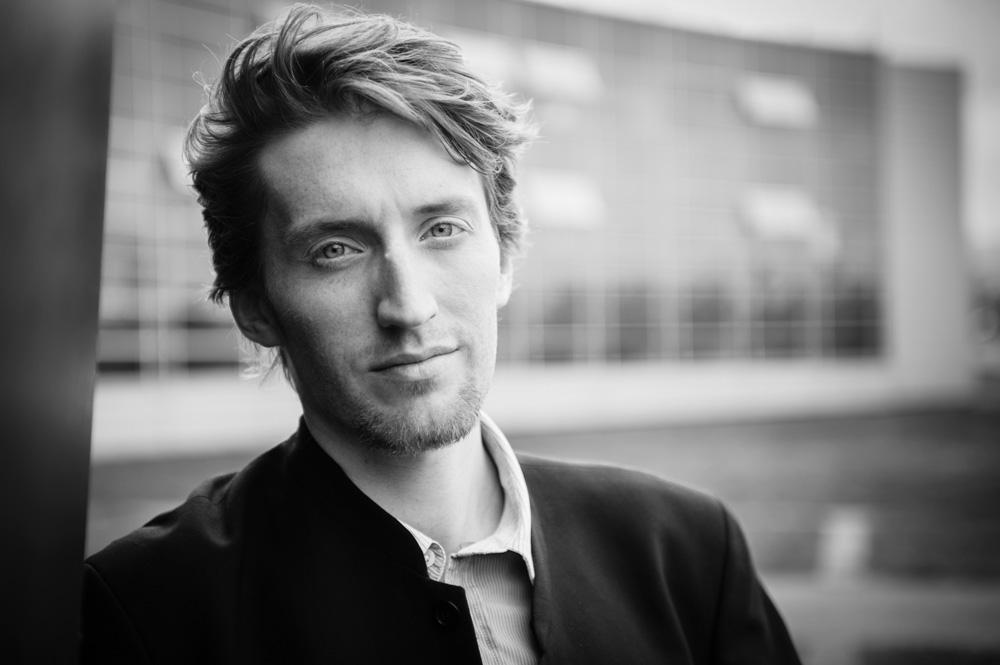 Portrait corporate d'un jeune entrepreneur clermontois.