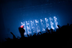 Photo du concert Vitalic au festival europavox à clermont-ferrand en 2013.