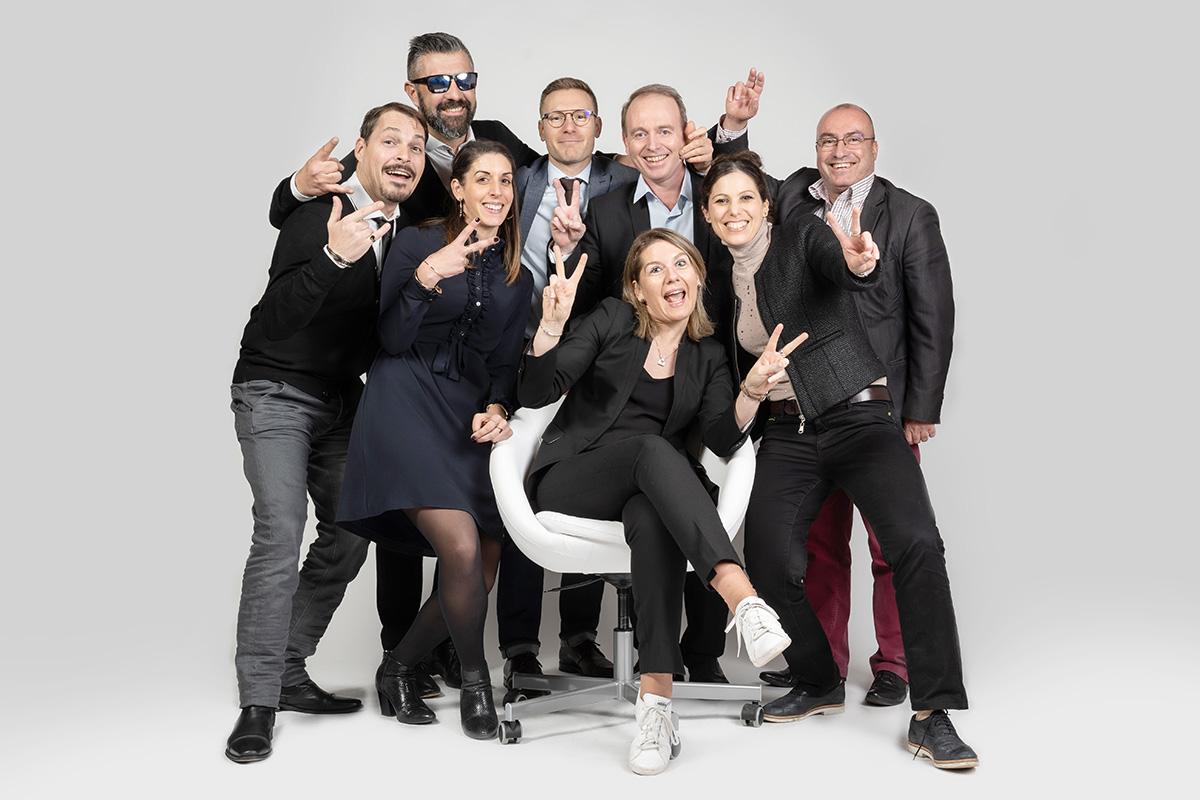 reservez une seance photo pour renforcer la cohesion de vos équipes