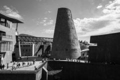 photographie noir et blanc extraite d'un reportage pour l'aist, lors de leur seminaire annuel à vulcania